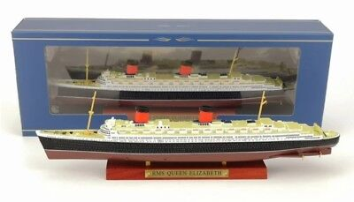 ATLAS 1//1250 Scale RMS QUEEN ELIZABETH Cruise Ship Finished Model Model Toy