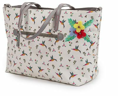 Pink Lining Nottinghill TOTE HUMMINGBIRD Storage Travel New Baby