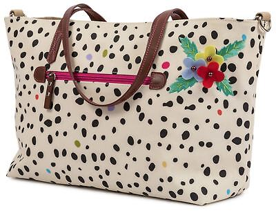 Pink Lining Nottinghill FEVER TOTE DALMATIAN Storage Travel New Baby