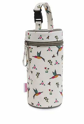 Pink Lining BOTTLE HOLDER HUMMINGBIRD Baby Feeding Travel BN