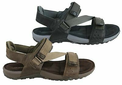 06ca0c28f20d Merrell Terrant Strap Mens Comfortable Cushioned Leather Sandals