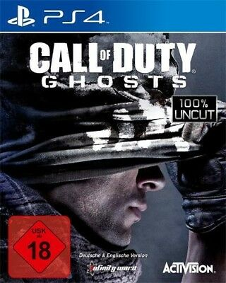 PS4 / Sony Playstation 4 game - Call of Duty: Ghosts EN/GER boxed