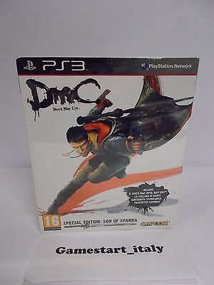 Dmc Devil May Cry Son Of Sparda Limited Edition - Sony Ps3 - Nuovo New Sealed