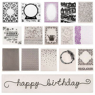 Plastic Embossing Folder Template DIY Die Cutting Scrapbooking Card Crafts Gift