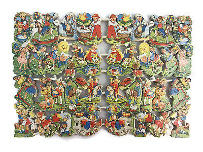 Vintage EAS Germany Die Cut Scraps Ganzbilder 3048 Children Toys Single Sheet