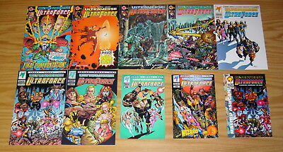 Ultraforce #0 & 1-10 VF/NM complete series + 0A + 0B + limited ashcan ultraverse
