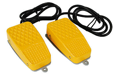 2 pcs TEMCo Aluminum Foot Switch 10A SPDT NONC Electric Pedal Momentary New LOT