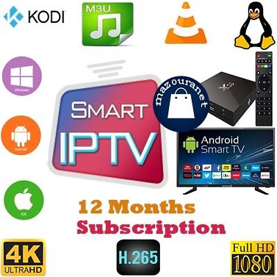 Iptv Subscriptio 12 months world iptv🔥Smart iptv M3u Android iptv Box 1 year 🔥