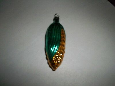 Vintage corn Ornament made In Czech