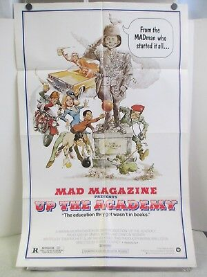 Original 1980 Mad Magazine Presents Up The Academy 1 Sheet Movie Poster 41""