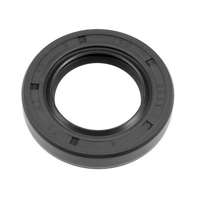 Oil Seal, TC 27mm x 45mm x 8mm, Nitrile Rubber Cover Double Lip