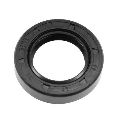 Oil Seal, TC 20mm x 45mm x 10mm, Nitrile Rubber Cover Double Lip