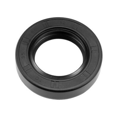 Oil Seal, TC 35mm x 58mm x 12mm, Nitrile Rubber Cover Double Lip