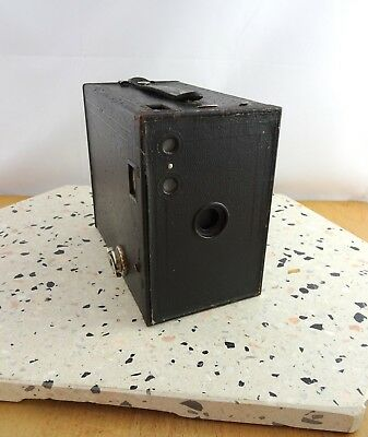 Vintage Eastman Kodak No 2A Brownie Box Camera Made in USA Uses 116 Film