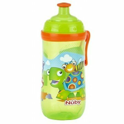 Toddler Sipeez Busy Sipper beaker cup fom  360ml Age 18m+ BPA Free green turtle
