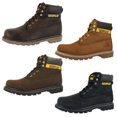 buy popular 469f0 8c218 CAT CATERPILLAR COLORADO Boots Herren Schuhe 6 Inch Leder Stiefel  Stiefeletten