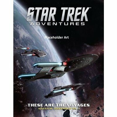 Star Trek Adventures RPG These Are the Voyages #1 - English