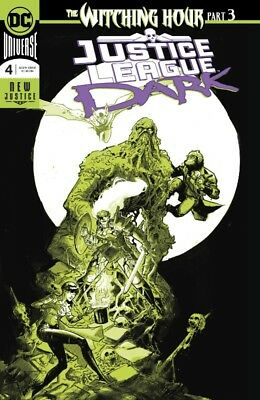 Justice League Dark #4 Foil Enhanced Cover (Witching Hour) Rossmo 101718