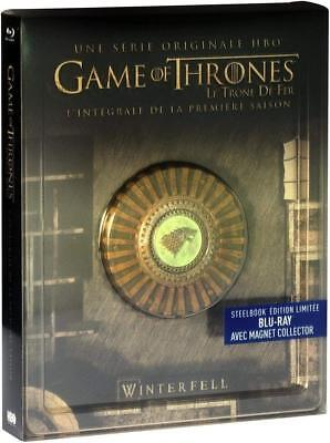 Game of Thrones - Staffel/Season 1 (Blu-Ray) Steelbook & Magnet -Deutscher Ton-