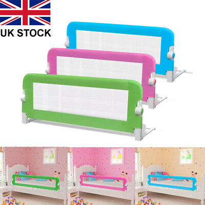 Baby Bed Safety Rail Guard Kid Toddler Child Bedroom Protection Folding Gate