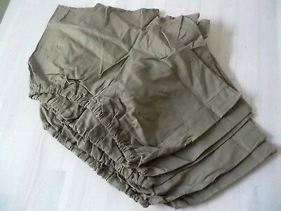 5x vintage shorts Sporthose tschechische armee oldschool Sport gym pants S