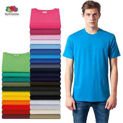 Fruit of the Loom T-shirt Valueweight  S M L XL XXL XXXL 3XL 4XL 5XL Sets SHIRTS