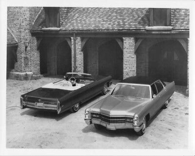 1966 Cadillac DeVille Convertible & Fleetwood Press Photo and Release 0044
