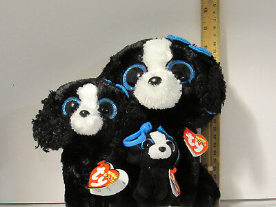 Reg Boo TY Clip NWT 3 pc Lot SET TY CINDER THE Green DRAGON BEANIE BOOS MED
