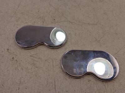 1999-2013 Yamaha Royal Star Venture CHROME FRONT CALIPER COVER COVERS INSERTS