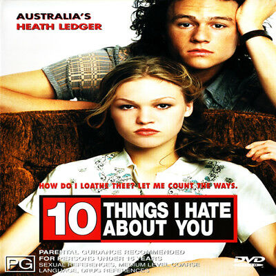 10 Things I Hate About You - Ledger, Heath - Movie Dvd Used Dvd