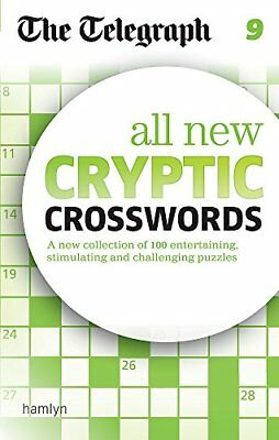 The Telegraph: All New Cryptic Crosswords 9 (The Telegraph Puzzle Books)-The Tel