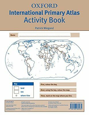 Oxford International Primary Atlas Activity Book (2nd Edition)