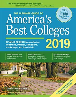 The Ultimate Guide to America's Best Colleges 2019-Kelly Tanabe, Tanabe