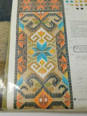 Vintage GUNNAR P Design Norway Needlepoint Tapestry Wool Kit 6613 Bell Pull