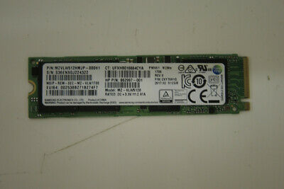 Samsung M.2 PCIE NVMe 512 GB SSD Laptop Solid State Drive MZVLW512HMJP-000H1