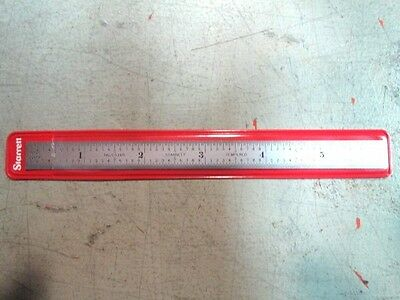 "Starrett C316R-6 6"" Steel Rule With Inch Graduation New"