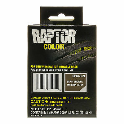 Raptor Color Tint Pouches - Sepia Brown