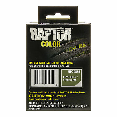 Raptor Color Tint Pouches - Olive Green