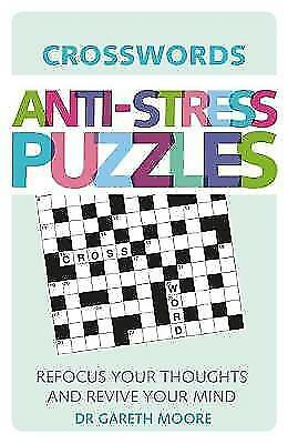 (Good)-Anti-Stress Puzzles: Crosswords (Paperback)-Gareth Moore-178243612X