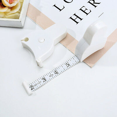 1.5M Retractable Body Measuring Tailor ruler Tape Measure Centimeter Inch Ruler