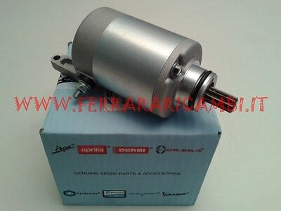 04//07 M28500 ORIGINAL ELECTRIC STARTER MOTOR OEM FOR PIAGGIO 250 Beverly Rst