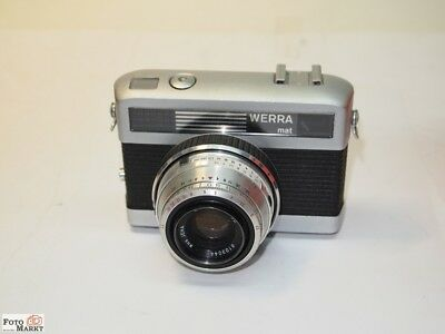 Carl Zeiss Jena Werra-Mat 24x36mm Camera with Spring Winding