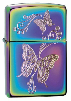 Zippo Butterflies Windproof Lighter - Spectrum