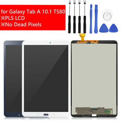 For Samsung Galaxy Tab A 10.1 T580 SM-T580 LCD Display Touch Screen Replacement