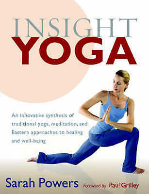 Insight Yoga by Sarah Powers, NEW Book, (Paperback) FREE & Fast Delivery