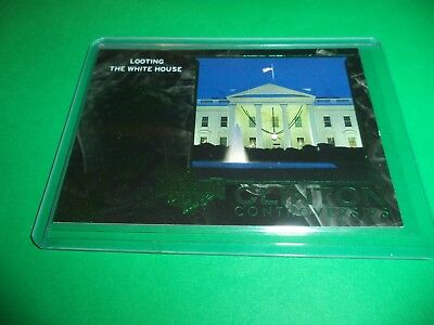 DECISION 2016 SERIES 2 POLITICAL GEMS GREEN FOIL JOHN LEWIS PG55