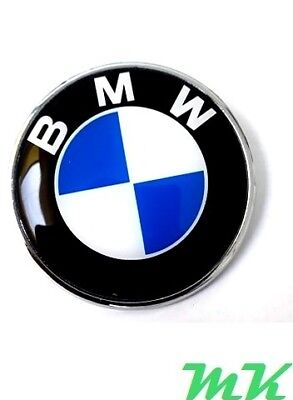 BMW 82mm badge Front Rear Bonnet Boot Logo Badge Emblem 1er 3er 5er 7e X6 X5