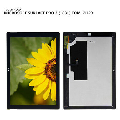 For Microsoft Surface Pro 3 1631 V1.1 003 LCD Display Touch Screen Digitizer