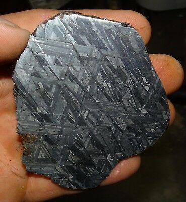 Amazing 232 Gm. Muonionalusta Etched Meteorite End Cut