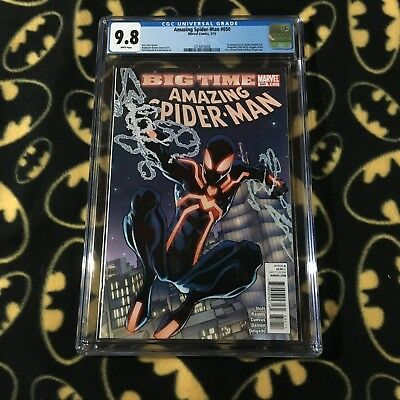 AMAZING SPIDERMAN #650 9.8 CGC 1st Print Graded Slab First Stealth Suit 2011
